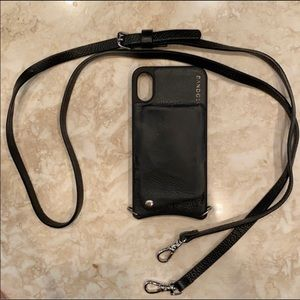 Bandolier IPhone X case black